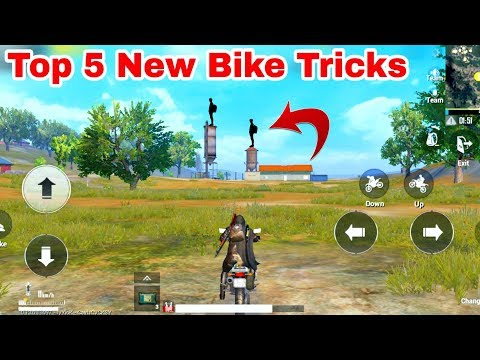 Top 5 New Bike Trick For PUBG Mobile || 0.00001% People Know This Bike Tricks