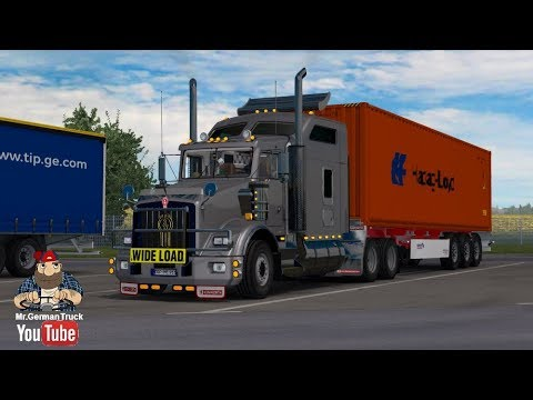 Kenworth T800 + Interior + DLC Cabin & Flags v2.4