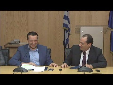 Ν.Παππάς: Η Ελλάδα μπορεί να γίνει κόμβος εμπορίου και τηλεπικοινωνιών