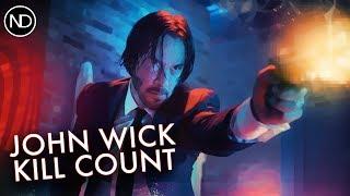 THE JOHN WICK KILL COUNTER   Keanu Reeves   2015 [HD]