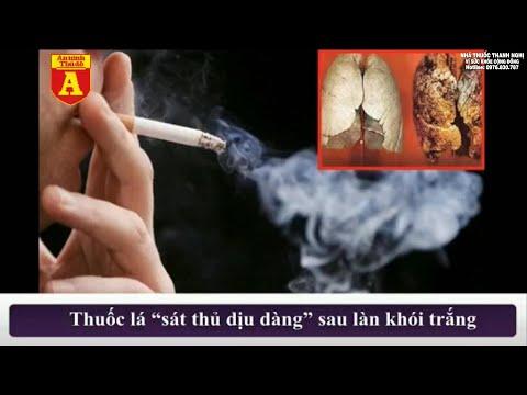 Sát thủ dịu dàng sau làn khói trắng