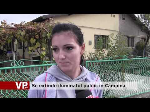 Se extinde iluminatul public în Câmpina