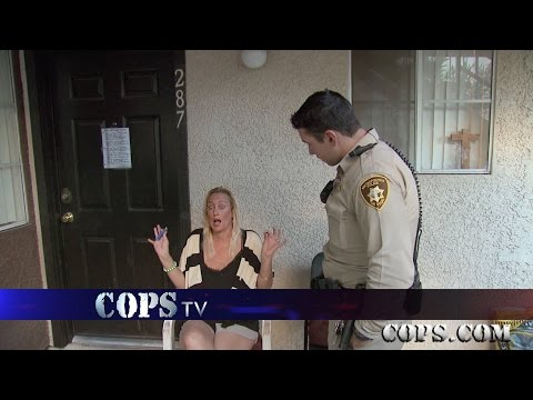 Potheads v. Pillpoppers, Officer Diasparra, COPS TV SHOW