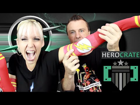 Hero Crate June, 2015 (The Flash) Unboxing Review