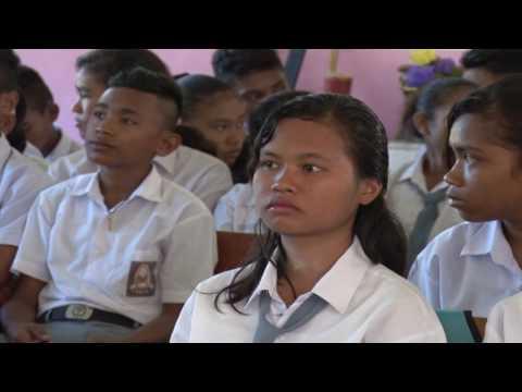 Video Wawasan Kebangsaan Di SMA N 3 Pulau Haruku