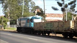 Maryborough Australia  city pictures gallery : Australian Trains - MVHR 1632 working the Maryborough Wharf Branch