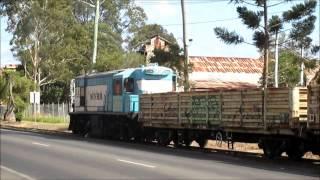 Maryborough Australia  city photos : Australian Trains - MVHR 1632 working the Maryborough Wharf Branch