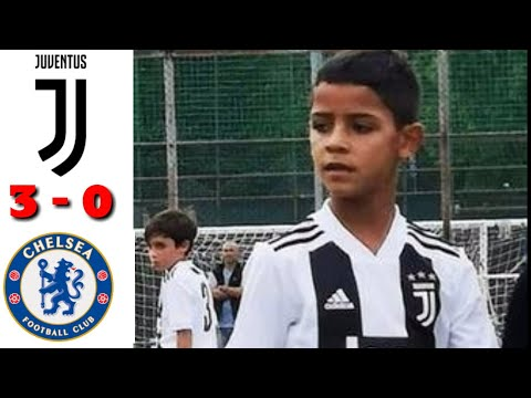 Juventus U-9 Vs Chelsea U-9 Match Highlights | Football World
