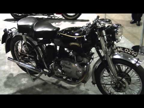 1951 Vincent Comet 500 Motorcycle