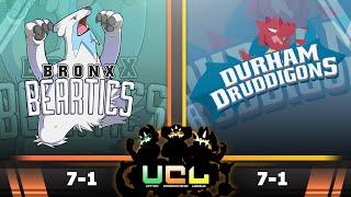 Bronx Beartics vs Durham Druddigons [UCL S2W9] Pokemon Omega Ruby & Alpha Sapphire Live Wi-Fi Battle by PokeaimMD