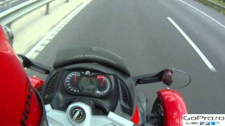 6. Top speed on Can-Am Spyder, 2 onboard.mp4