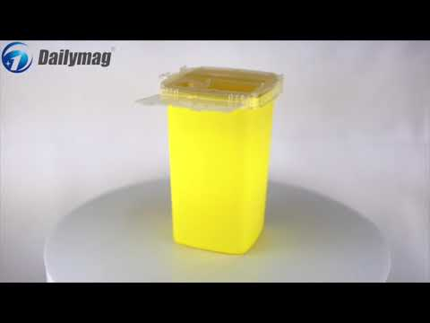 How To Use Dailymag Dms-t1b 1l Medial Sharps Container