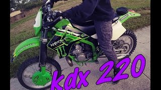 8. Kawasaki KDX220 | quick review