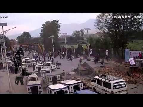 (Earthquake footage kathmandu mall - Duration: 105 seconds.)