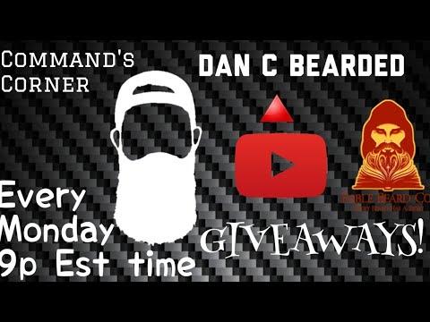 Beard oil - Command's Corner Livestream! Ft. Fable Beard Co