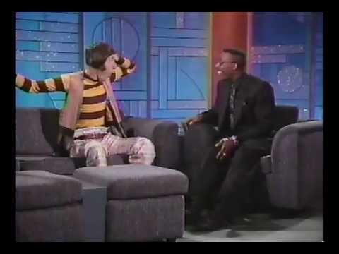 Emo Philips on the Arsenio Hall Show (after Madonna, 1990)