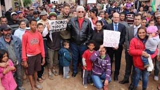 Requião Filho visita moradores de ocupação no CIC, em Curitiba