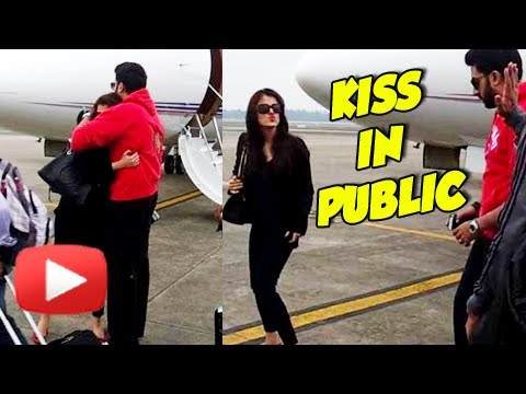 When Aishwarya Rai Kissed Abhishek Bachchan In Public | PDA