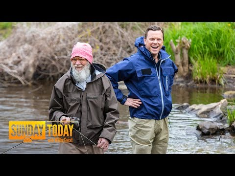 David Letterman's Life After 'Late Show': Fishing, Family And Costco   Sunday TODAY