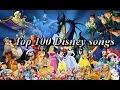 Top 100 Disney songs