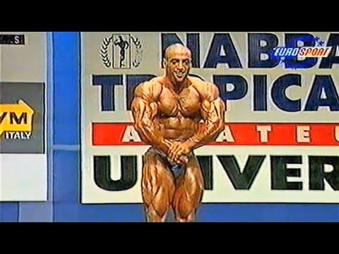 Деннис Джеймс на NABBA Universe 1996