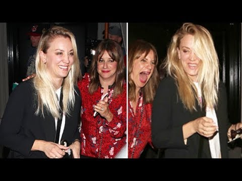 Kaley Cuoco Is The Life Of The Party At Craig's