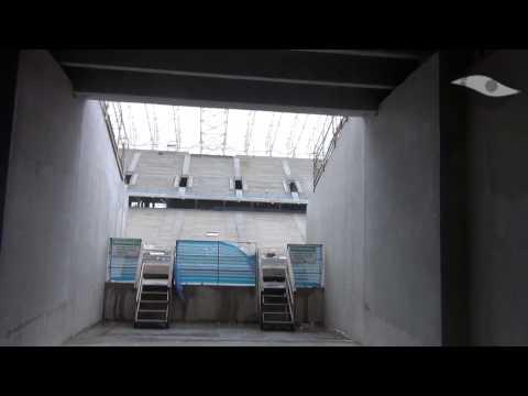 Por dentro da obras da Arena Corinthians em 26/01/2013 - Parte 3 - O subsolo