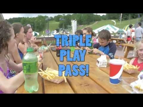 The Triple Play at Bromley - all of Vermont's Summer Adventure!