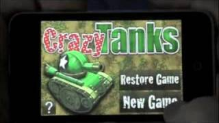 Crazy Tanks YouTube video