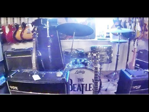 The Beatles amps & guitars of Beatlemania 1963