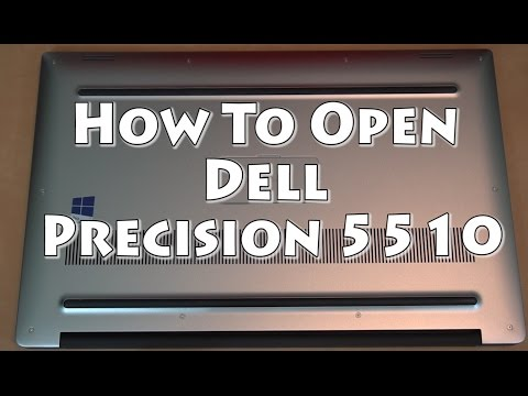 , title : 'Dell Precision M 5510 Quick Laptop Disassembly Guide'