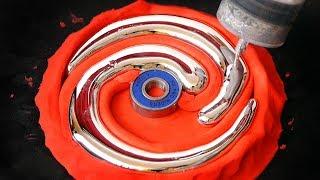 Video DIY Spiral Gallium Fidget Spinner MP3, 3GP, MP4, WEBM, AVI, FLV Desember 2018