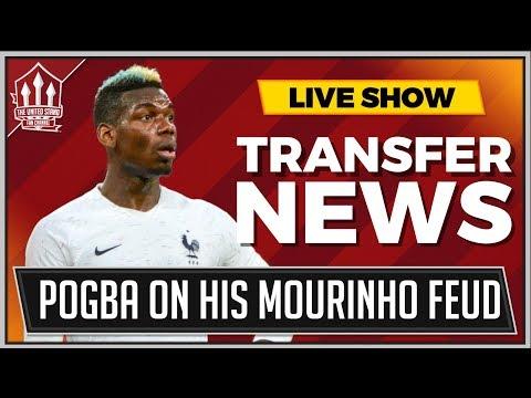 POGBA Reveals MOURINHO Feud Truth! MANCHESTER UNITED Latest Transfer News Now