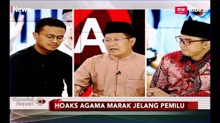 Video Amsori Nilai Pihak 02 Gampang Percaya Hoaks, Faldo Sebut Polisi Tebang Pilih - Special Report 22/03 MP3, 3GP, MP4, WEBM, AVI, FLV Maret 2019