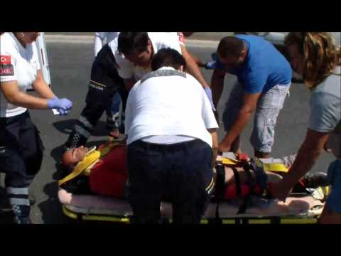 8 Temmuz 2015 Üçyol Mevkii Kaza 3 yaralı