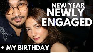 Video Newly Engaged sa New Year?  And It's My Birthday VLOG 48 MP3, 3GP, MP4, WEBM, AVI, FLV Januari 2018