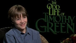 Nonton The Odd Life Of Timothy Green - Interview with CJ Adams Film Subtitle Indonesia Streaming Movie Download