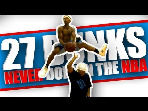 dunk - Here are 27 dunks that have NEVER been done in the NBA Dunk Contest! There are actually 31 variations of dunks in the video but since some of them were somew...