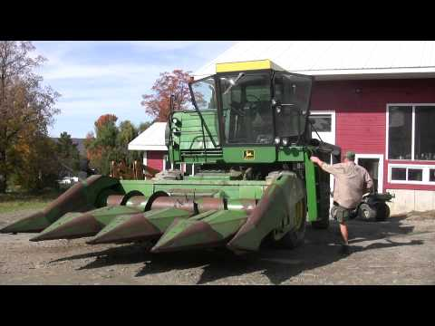 sunflowers - John Williamson is a Vermont farmer who's been growing oil crops for on-farm biodiesel and animal feed since 2005. Follow him as explains sunflower crop prod...