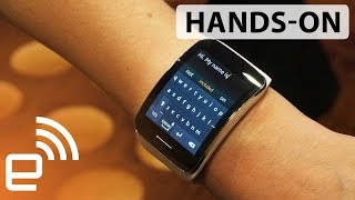 Samsung Gear S hands-on  Engadget