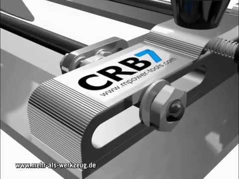 CRB7 MK3 Multifunktions-Basisplatte für Oberfräsen (Deutsch) - Infovideo Tutorial