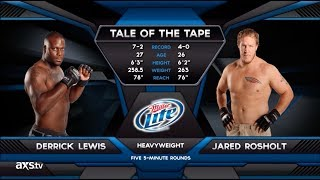 Video Fight of the Week: Derrick Lewis and Jared Rosholt Battle for the Heavyweight Strap MP3, 3GP, MP4, WEBM, AVI, FLV Juni 2019