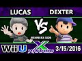 S X 141  Pink Fresh Lucas Vs Dexter Ness Ssb4 Tournament  Smash Wii U  Smash 4