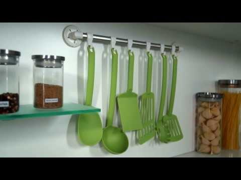 Видео Вешалки и крючки на кухню Tescoma Крючок для вешалки OCTOPUS, 6 шт Tescoma 899690