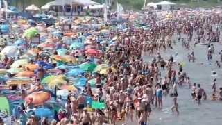 Czy Ci ludzie powariowali?! Tak wyglądała plaża w Międzyzdrojach!