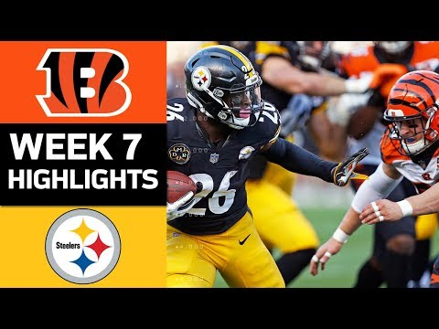 Bengals vs. Steelers | NFL Week 7 Game Highlights - Thời lượng: 8:12.