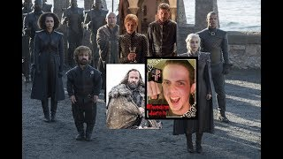 "I give my thoughts on the Season 7 premiere of Game of Thrones on HBO ""Dragonstone"". Overall I thought this was a fine start that successfully lay the groundwork for the rest of the season and re-immersed me into the world of the show. I was a little surprised by the disagreement between Jon and Sansa but I was sided with Jon's perspective and hope that Sansa won't go too drastically against him and also enjoyed Cersei and Jaime's scene and how they deal with Euron thus far. I found the Hound's scenes with the Brotherhood to be the most interesting of the episode as he comes across a familiar place and sees something in the fire after all. Sam also made a major discovery about Dragonstone where Daenerys just landed with Tyrion and her army and Bran reaches The Wall. I'm giving the episode about a 9.2 or 9.3 out of 10!  FOLLOW ME ON FACEBOOK: https://www.facebook.com/BloodeeJacobOFFICIALFOLLOW ME ON TWITTER:https://twitter.com/BloodeeJacob"