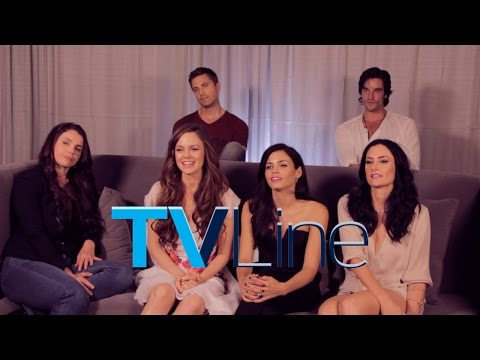 Witches of East End - Season 2 - TVLine Comic-Con Interview [VIDEO]