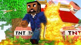 BIGGEST TNT FAIL VICTORY! (Minecraft BEDWARS)