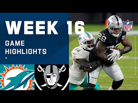 Dolphins vs. Raiders Week 16 Highlights | NFL 2020